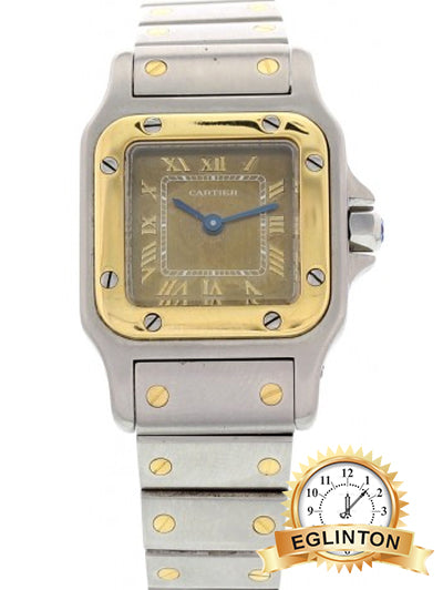 CARTIER Cartier Santos 1057930 18k Yellow Gold - Johny Watches - New and used Rolex watches in toronto