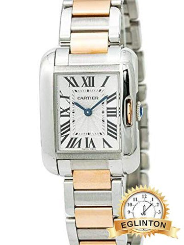 Cartier Tank Anglaise Quartz Female Watch W5310036 - Johny Watches - New and used Rolex watches in toronto