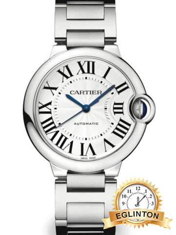 Cartier Ballon Bleu de Cartier Stainless Steel Bracelet Watch/36MM - Johny Watches - New and used Rolex watches in toronto