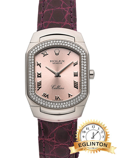 Rolex 6691/9 White Gold & Diamond Cellini Cellissima - Johny Watches - New and used Rolex watches in toronto