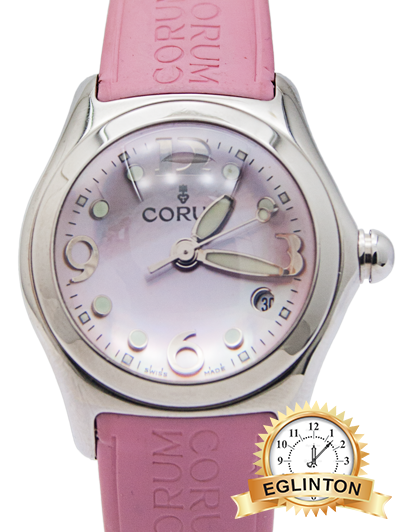 Corum Bubble  Rubber Pink | - Johny Watches - New and used Rolex watches in toronto