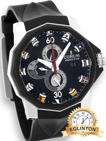 Corum Admirals Cup 48 Tides Titanium  Ref. 01.0005 - Johny Watches - New and used Rolex watches in toronto
