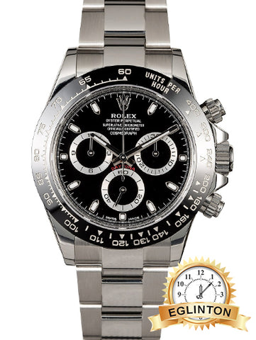 ROLEX DAYTONA 116500 BLACK CERAMIC MODEL 2019 - Johny Watches - New and used Rolex watches in toronto