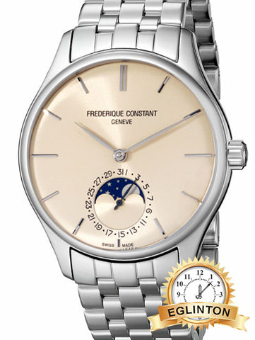 FREDERIQUE CONSTANT MANUFACTURE AUTOMATIC MOVEMENT IVORY DIAL MEN'S WATCH Model : FC-705BG4S6 - Johny Watches - New and used Rolex watches in toronto