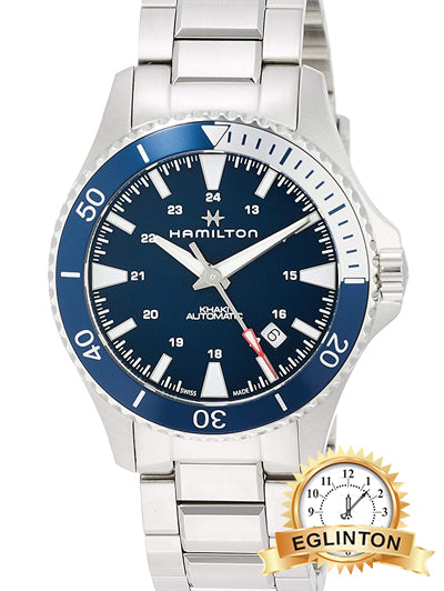 Hamilton H82345141 Khaki Navy Scuba Auto Men's Watch 40mm Stainless Steel - Johny Watches