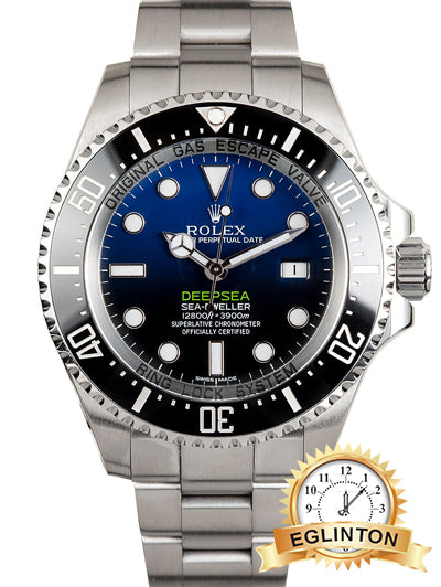 ROLEX SEA-DWELLER 44MM DEEPSEA 116660B JAMES CAMERON 2019 - Johny Watches - New and used Rolex watches in toronto