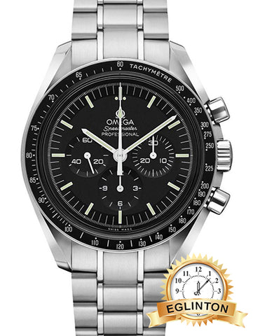 Omega Speedmaster Professional Moon Watch Black Dial Men's Watch 311.30.42.30.01.005
