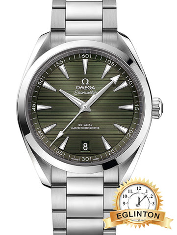 AQUA TERRA 150M OMEGA CO‑AXIAL MASTER CHRONOMETER 41 MM 220.10.41.21.10.001 - Johny Watches - New and used Rolex watches in toronto