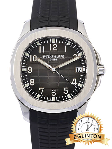 NEW PATEK PHILIPPE Aquanaut Date Sweep Second 5167A-001