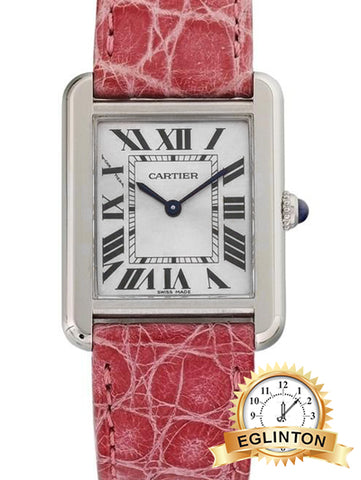 Cartier Tank Solo Quartz White Dial Ladies Watch 3170 - Johny Watches - New and used Rolex watches in toronto