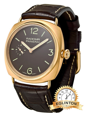 PANERAI Radiomir Rose Gold (PAM00336) - Johny Watches - New and used Rolex watches in toronto