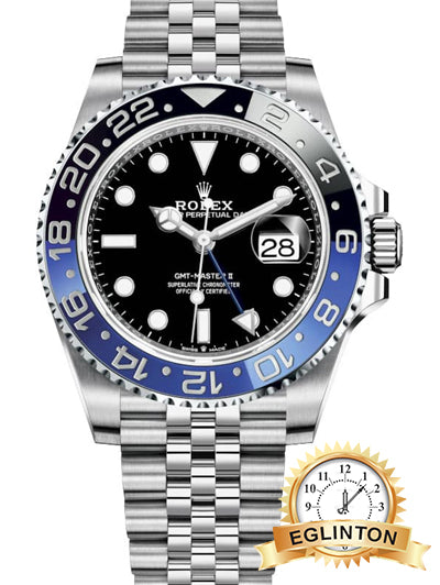Rolex GMT-Master II Batman Jubilee - Johny Watches - New and used Rolex watches in toronto