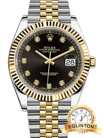 Rolex Datejust 41mm Steel and Yellow Gold Mens Watch - Johny Watches - New and used Rolex watches in toronto