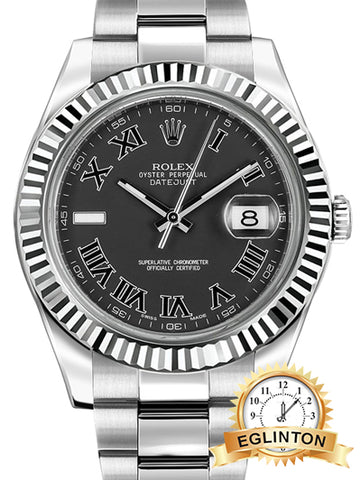 New Rolex Datejust II 41 Men's Watch 116334 - Johny Watches - New and used Rolex watches in toronto