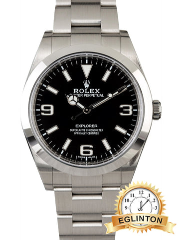 ROLEX EXPLORER 214270 MARK II LUMINESCENT DIAL
