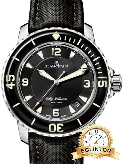 Blancpain FIFTY FATHOMS AUTOMATIQUE 5015-1130-52 - Johny Watches - New and used Rolex watches in toronto