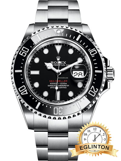 Rolex Sea-Dweller Red 43mm Stainless Steel Watch 126600 - Johny Watches - New and used Rolex watches in toronto
