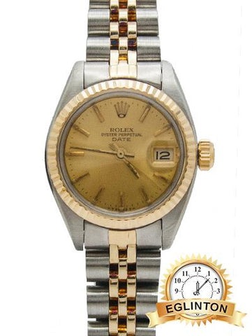 "Rolex  69173 Date Two Tone 26mm 16970 ""1981"" - Johny Watches - New and used Rolex watches in toronto"