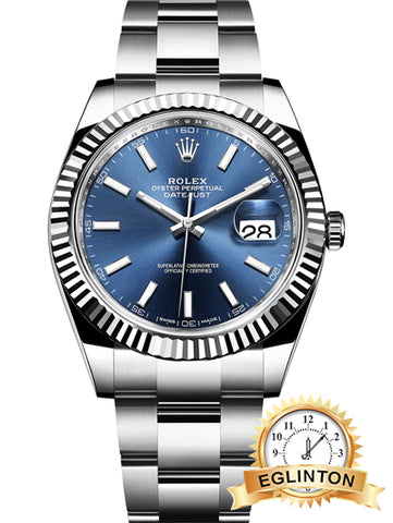 Rolex Datejust 41mm Stainless Steel Mens Watch - Johny Watches - New and used Rolex watches in toronto
