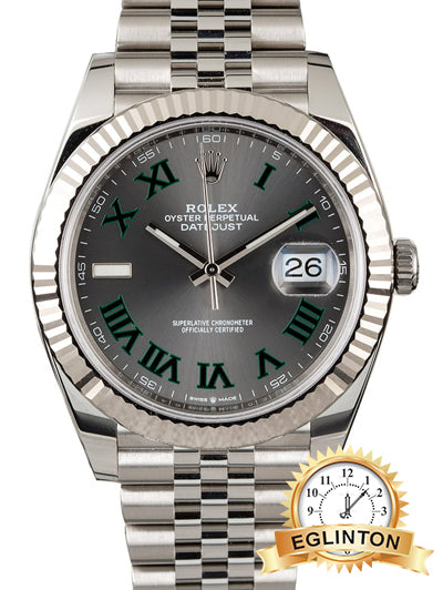 ROLEX DATEJUST II REF 126334 SLATE ROMAN DIAL - Johny Watches - New and used Rolex watches in toronto