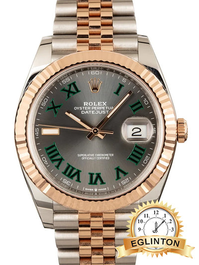 "Rolex Datejust 41mm Steel and Everose Gold Mens Watch ""2020"" - Johny Watches"