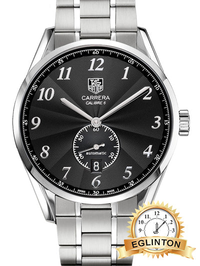 Tag Heuer Carrera Heritage Calibre 6 Black Dial Men's Watch WAS2110.BA0732 - Johny Watches