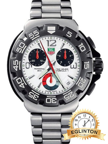 Tag Heuer Formula 1 White Dial Men's Watch CAC1111.BA0850 - Johny Watches