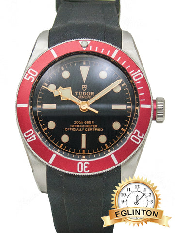 "Tudor Black Bay Automatic Black Dial Men's Watch M79230R-0010 ""2018"" - Johny Watches - New and used Rolex watches in toronto"