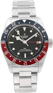 TUDORBlack Bay Automatic Black Dial Men's GMT Pepsi Bezel Watch 79830RB-0001 - Johny Watches