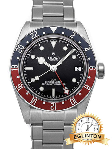 "Tudor Black Bay Automatic Black Dial Mens GMT Pepsi Bezel Watch 79830RB-0001 ""2021"" - Johny Watches"