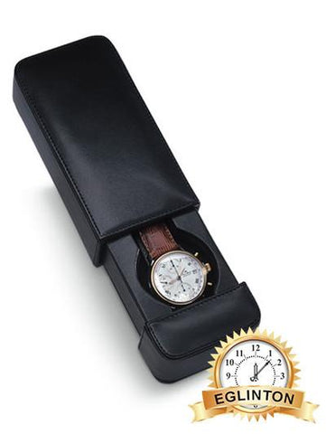 Venlo Milano 1 watch traveling / Storage Case Italian Leather - Johny Watches