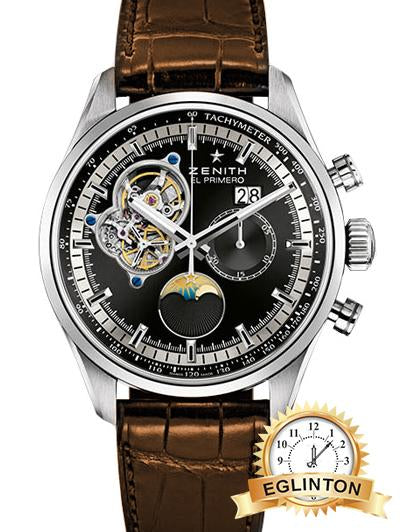 Zenith El Primero Chronomaster Open Grande Date Mens Watch - Johny Watches - New and used Rolex watches in toronto