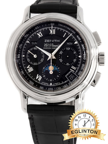 ZENITH CHRONOMASTER T EL PRIMERO 01.0240.410/23.C495 - Johny Watches - New and used Rolex watches in toronto