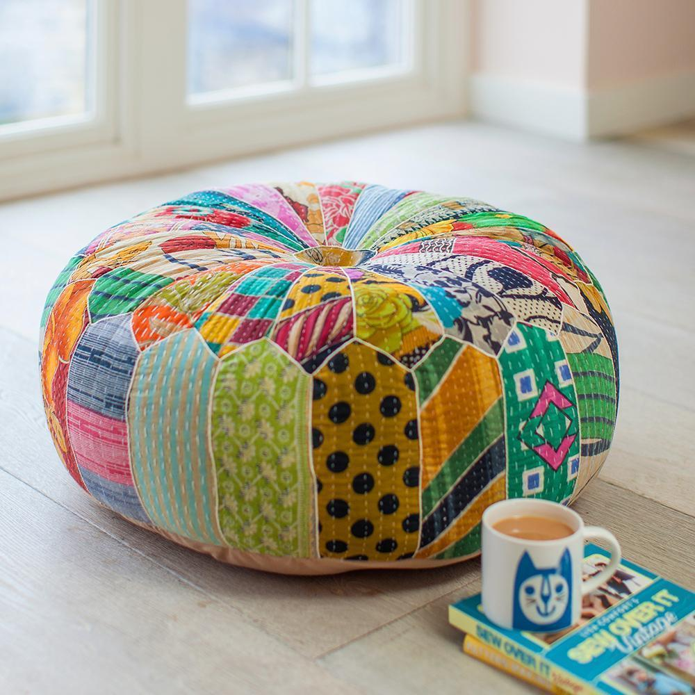 Floor Cushions & Pouffes