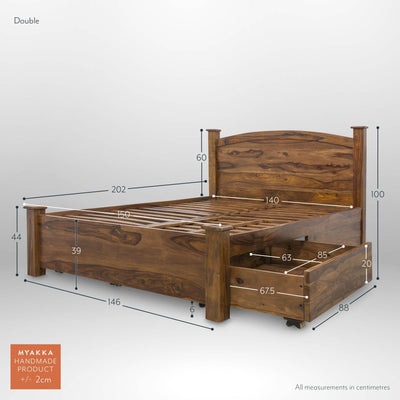 MYAKKA Mallani King Size Storage Bed