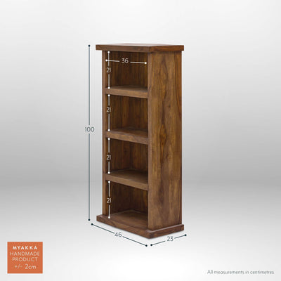 MYAKKA Mallani Space-Saver Bookcase