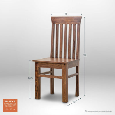 MYAKKA Delhi Dining Chairs Single