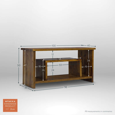 MYAKKA Mallani Shelf TV Unit