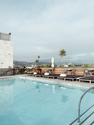 A night on the roof of the Sixty Beverly Hills Hotel