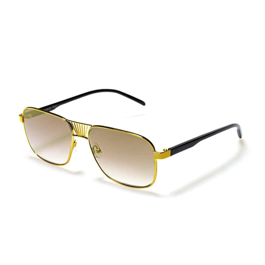 Desert Sky Gold - Designer Sunglasses for Men and Women