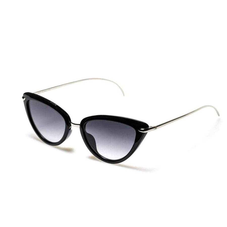 Starlette Black Silver - Designer Sunglasses for Women
