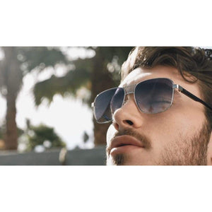 Desert Sky Silver - Designer sunglasses for men