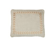 Boxed Standard Pillow in Nubby Cream