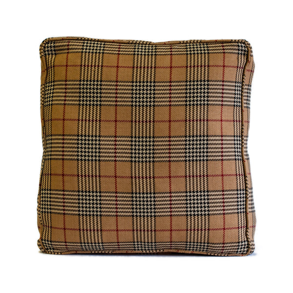Plaid Boxed Pillow