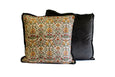 Floral Silk Vintage Pillow