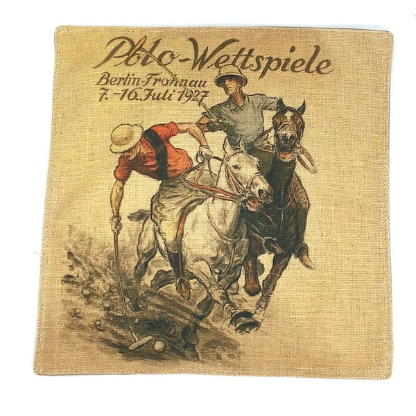 Equestrian Placemat - Polo Players