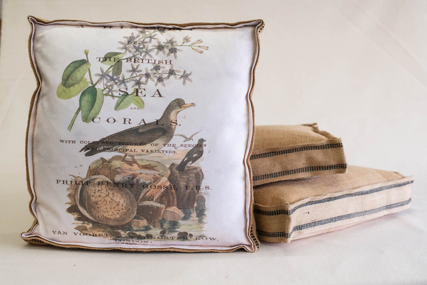 Single Layered Pillow Sea History Botanical