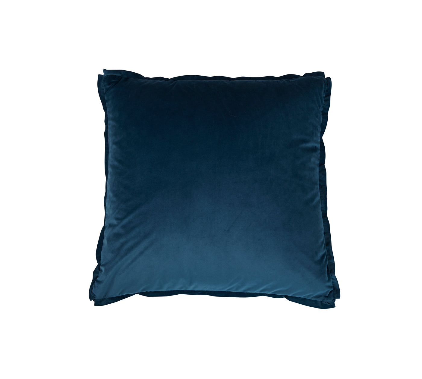 Velvet Pillow Square Dark Blue