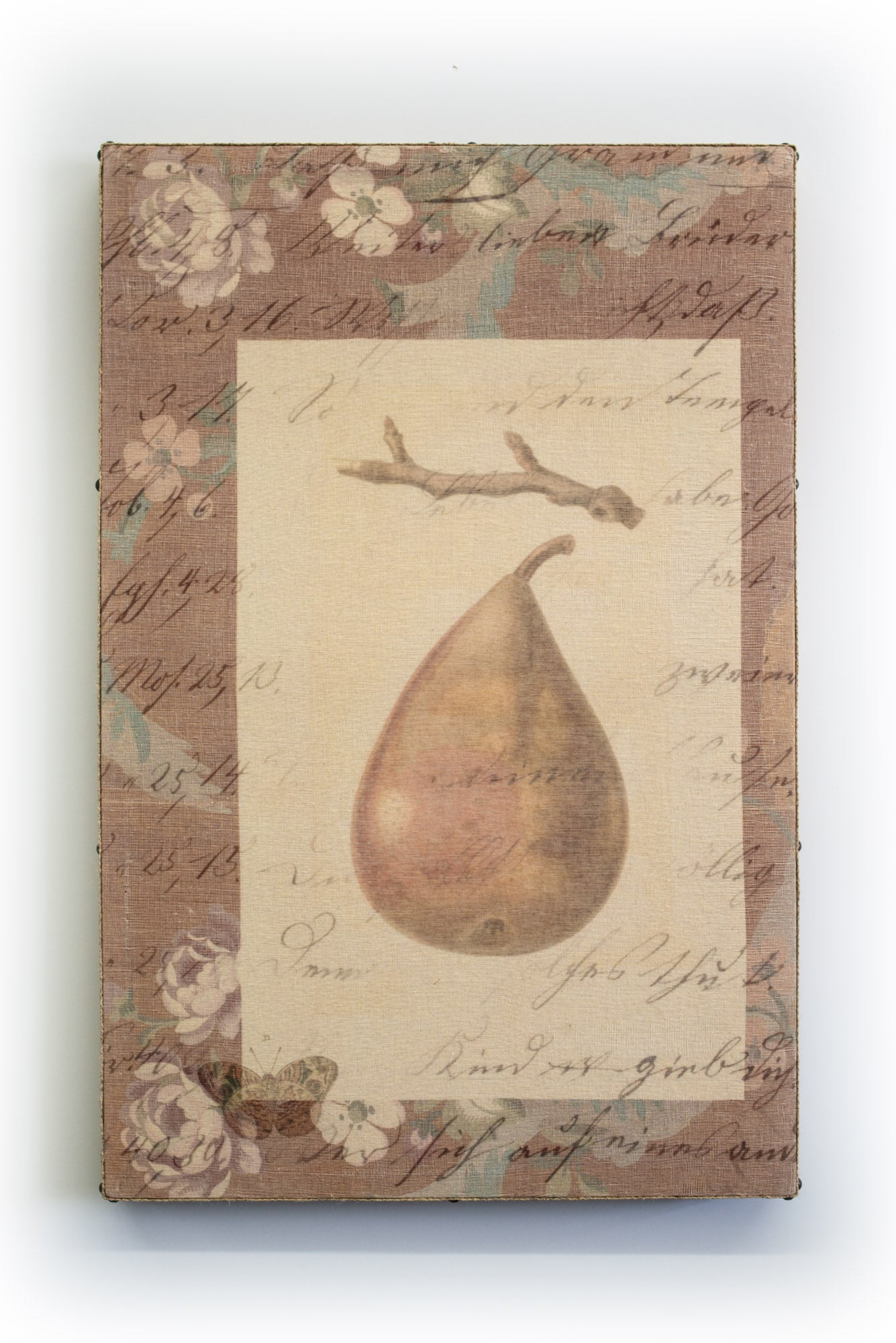 Wall Art Multi Layered Fancy Pear 2