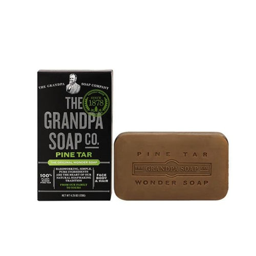 The Grandpa Soap Co. Jabón Bañarse Ducharse Afeitarse Y Lavarse Cabello O Barba